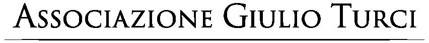 Associazione Giulio Turci Logo